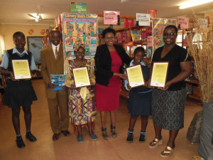 Rural school library comes out tops